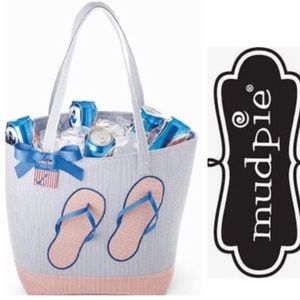 "NWT MUD PIE ""Flip Flops"" Insulated Party/Beach Bag"
